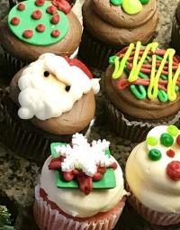 Cupcakes 19 Christmas