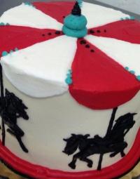 Horse Carousel Cake