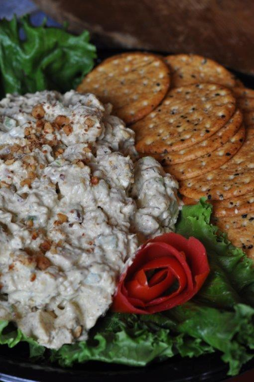 Chicken Salad with Cracker