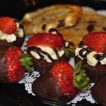 assort dessert tray