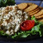 chkn salad w crackers