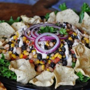 corn blck bean salad