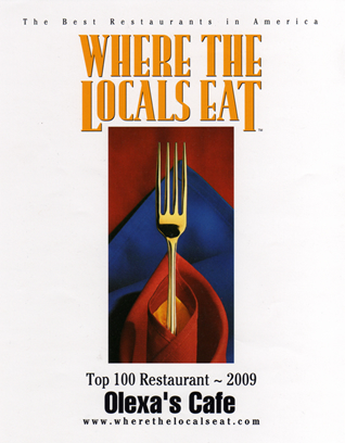 where the locals eat - reg